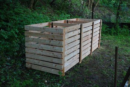 Jak vyrobit dřevěný kompostér